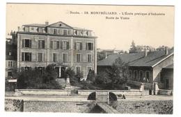 25 DOUBS - MONTBELIARD L'Ecole Pratique D'Industrie, Buste De Viette - Montbéliard