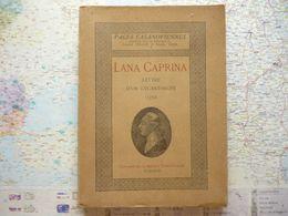 Jacques Casanova Lana Caprina Lettre D'un Lycanthrope Pages Casanoviennes De Joseph Pollo/Raoul Vèze - Jean Fort éditeur - Books, Magazines, Comics