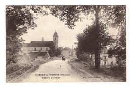 25 DOUBS - CUSSEY SUR L'OGNON Entrée Du Pays (voir Description) - Montbéliard
