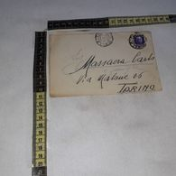 FB1804 STORIA POSTALE BUSTA IMPERIALE 50 C. DA BIELLA A TORINO - Poststempel