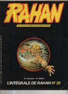 RAHAN INTEGRALE NOIRE N° 26 BE 03/1986 Cheret Lecureux (BI4) - Rahan