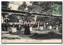 CPA Vichy Le Parc Du Casino - Vichy
