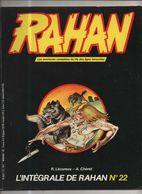 RAHAN INTEGRALE NOIRE N° 22 BE 12/1985 Cheret Lecureux (BI4) - Rahan