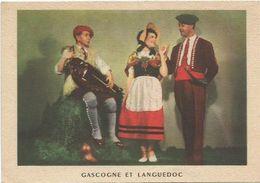 CPSM  Folklore  Gascogne Et Languedoc  Joueur De Vielle - Musique