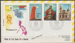 Vatikan 1970 Mi-Nr.572,573,575 VIAGGIO DI S.S. PAOLO VI A Manila Filippine ( D 4367 )günstige Versandkosten - Poste Aérienne