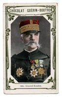 Trade Card. Chromo Chocolat Guérin-Boutron. N° 305, Général Kessler - Guérin-Boutron
