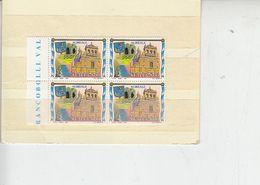 ITALIA  1991 - Sassone  2279** (quartina) - Turismo - Acireale - 6. 1946-.. Repubblica