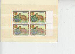 ITALIA  1991 - Sassone  2282** (quartina) - Turismo -  Ravenna - 6. 1946-.. Repubblica