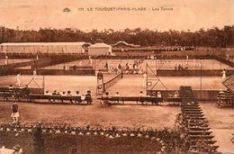62252Le Touquet Paris PlageLes Tennis171Circulée 1932 - Le Touquet