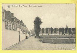 * Gent - Gand (Oost Vlaanderen) * (Nels, Foto J. Buyens) Begijnhof OLV, Couvent Ter Liefde, Béguinage, Nun, Soeurs - Gent