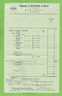 Macau - Companhia De Electricidade De Macau - Commercial Document Set - Conjunto De Documentos - Macao - China - Portugal