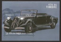 2019 - Bloc Feuillet F 5303 TRACTION AVANT- Fête Du Timbre  NEUF** LUXE MNH - Blocs & Feuillets