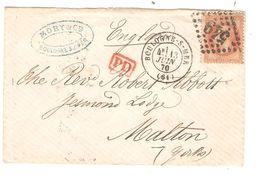REF1414/ TP 31 S/L.Mory & Cie C.Boulogne S/Mer 13/6/70 C.rouge PD > Malton England C.d'arrivée - Postmark Collection (Covers)