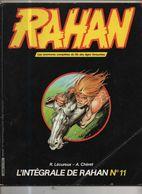 RAHAN INTEGRALE NOIRE N° 11 BE 01/1985 Cheret Lecureux (BI4) - Rahan