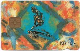 Denmark - Danmønt - The Little Mermaid - DB009 - 10Kr. Exp. 02.1995, 1.455ex, Used - Dinamarca