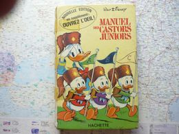 Manuel Des Castors Juniors Hachette 1970 - Bücher, Zeitschriften, Comics
