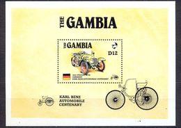 GAMBIA - MNH - CARS - MI.NO.BL 24 - CV = 11 € - Gambie (1965-...)
