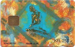 Denmark - Danmønt - The Little Mermaid - DD067 - 250Kr. Exp. 12.1996, 1.940ex, Used - Dinamarca