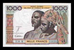 West African St. Senegal 1000 Francs 1965 Pick 703Ke EBC XF - Sénégal
