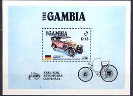 GAMBIA - MNH - CARS - MI.NO.BL 25 - CV = 11 € - Gambie (1965-...)