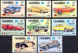 GAMBIA - MNH - CARS - MI.NO.626/33 - CV = 20 € - Gambie (1965-...)