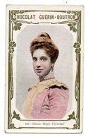 Trade Card. Chromo Chocolat Guérin-Boutron. N° 157, Infante Marie-Thérèse. - Guérin-Boutron