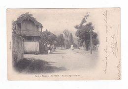 Ile De La Réunion.Saint-Denis.St-Denis.Boulevard Jeanne D'Arc.(Maison De Mme Palant.Voir Le Texte Du Verso).1905 - Saint Denis