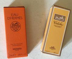 HERMES : 2   Tubes échantillons  (différents) - Muestras De Perfumes (testers)