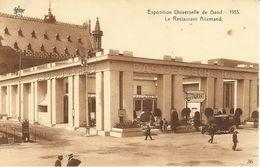 GAND-GENT - Exposition Universelle De 1913 - Le Restaurant Allemand - N'a Pas Circulé - Gent