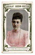 Trade Card. Chromo Chocolat Guérin-Boutron. N° 234, Princesse De Bade Marie Louise De Cumberland. - Guérin-Boutron