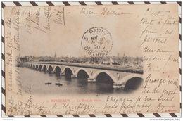 4AF691 BORDEAUX LE PONT DE PIERRE  2 SCANS - Bordeaux