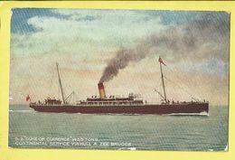 * Zeebrugge (Kust - Littoral) * (Telegrams Bulcke) SS Duke Of Clarence, Continental, Bateau, Boat, Hull - Zeebrugge - Zeebrugge