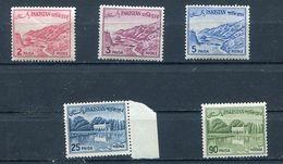 Pakistan. 1961-63 Definitives. UM - 2,3,5 ,25p, 90 Paisa - Pakistan