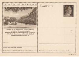 France Alsace Entier Postal Illustré Guerre Sennheim 1941 - Marcofilia (sobres)