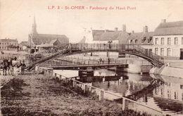 62262St OmerFaubourg Du Haut Pont3Circulée 1922 - Saint Omer