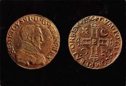 Rouen (Musée Départemental Des Antiquités) - Ecu D'Henri II Frappé à Rouen En 1556 - Monnaies (représentations)