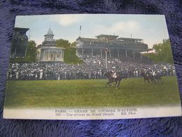 C.P.A.- Les Sports - Hippisme - Champ De Courses D'Auteuil (78) - Une Arrivée Du Grand Steeple - 1915 - SUP - (DH 94) - Hípica