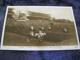C.P.A.- Les Sports - Hippisme - Champ De Courses D'Auteuil (78) - Saut De La Rivière - 1928 - SUP - (DH 96) - Hípica