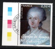 France 2020.Olympe De Gouge.cachet Rond Gomme D'origine. - Frankreich