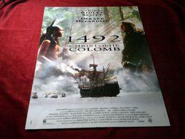 1492 CHRISTOPHE COLOMB  UN FILM DE RIDLEY SCOTT AVEC GERARD DEPARDIEU - Posters