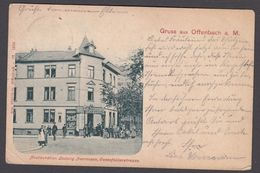 AK - Gruss Aus OFFENBACH,  Restauration Herrmann - 1904 - Offenbach