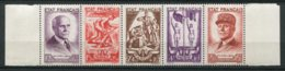 """18617 FRANCE N° F580** Secours National : """" Travail, Famille, Patrie """"    1943  B/TB - Unused Stamps"""