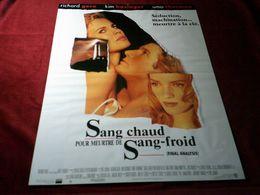 SANG CHAUD POUR MEURTRE DE SANG FROID    AVEC  RICHARD GERE / KIM BASINGER / UMA THURMAN - Posters