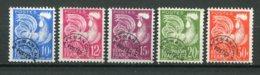 18626 FRANCE Préo. 110/3, 115 ° Type Coq Gaulois   1953  TB - 1953-1960