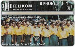Papua New Guinea - Telikom - L&G - Palmalmal High School Girls - 710B - 11.1997, 1K, 30.000ex, Mint - Papouasie-Nouvelle-Guinée