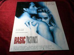 BASIC INSTINCT   AVEC  MICHAEL DOUGLAS - Posters