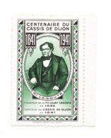 CENTENAIRE DU CASSIS DE DIJON - Commemorative Labels