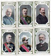 Trade Card. Lot De 10 Chromos Chocolat Guérin-Boutron. Militaires Et Autres. - Guérin-Boutron