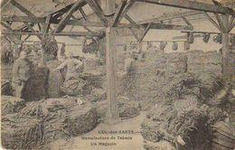 """1915   Cul Des Sarts - Manufacture De Tabacs - """" Le Magasin """" - Cul-des-Sarts"""