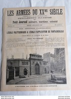 1905 L'ÉCOLE DE POLYTECHNIQUE ET L'ÉCOLE D'APPLICATION DE FONTAINEBLEAU - Zeitungen